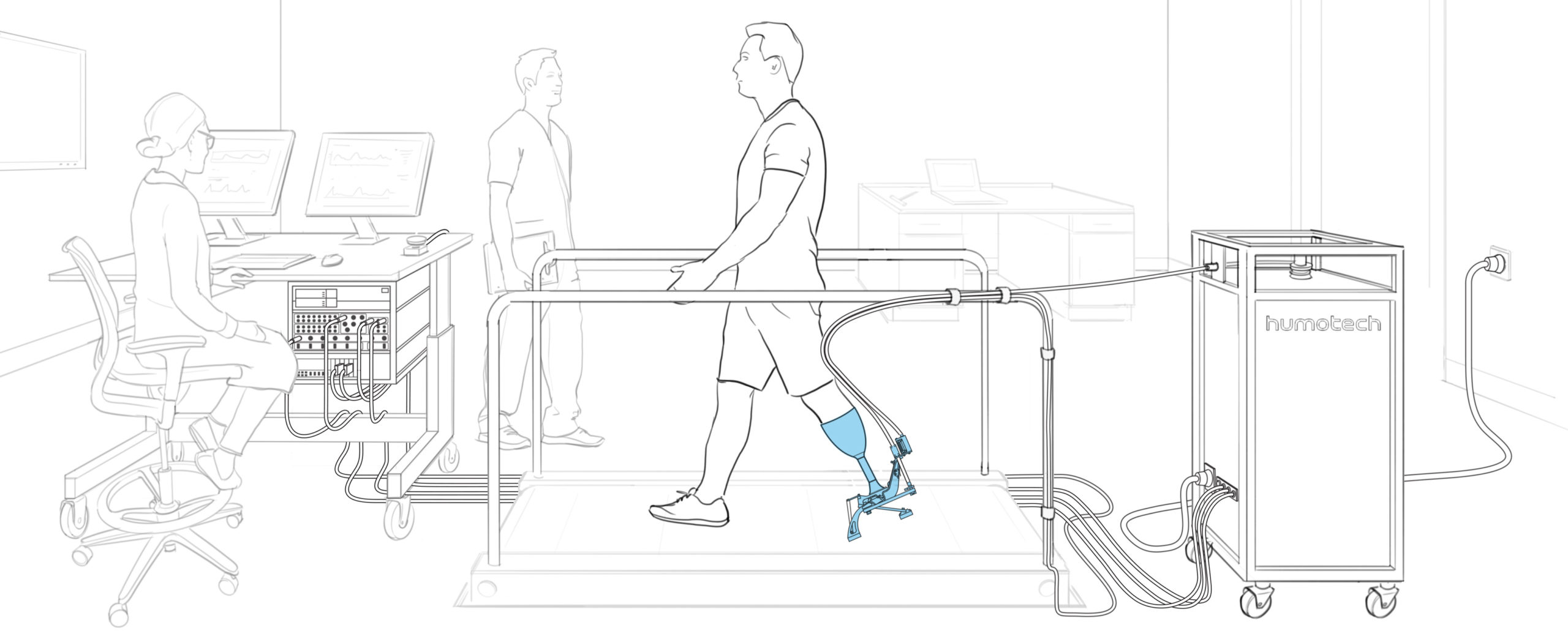 Full-Size Caplex System with PRO-001 Ankle-Foot Prosthesis