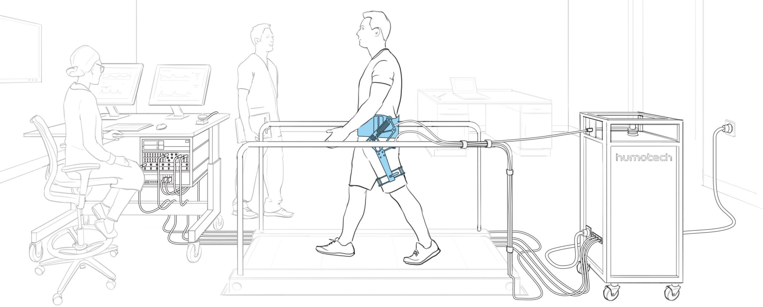 Full-Size Caplex System with EXO-004 Hip Exoskeleton